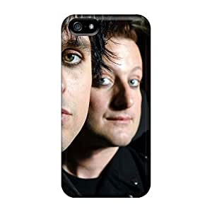High Quality Cell-phone Hard Covers For Iphone 5/5s (dFS11934Zuei) Unique Design Attractive Green Day Pictures