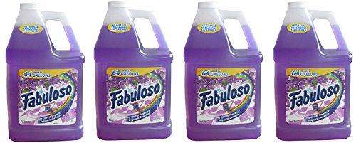 Fabuloso Lavender Multi-Purpose Cleaner, 128 fl oz (4 Gallons) by Fabuloso