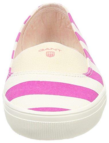 New Pink Chiusa Mehrfarbig strawberry Gant Donna Punta Ballerine Haven cream gTIdqZ
