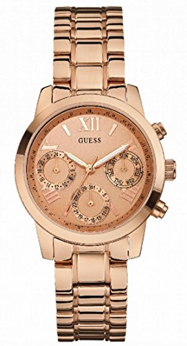 GUESS Rose Gold-Tone Ladies Watch W0448L3