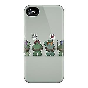 Hot Design Premium Qyh3094Wsfp Tpu Case Cover iphone 6 Protection Case(ninja Turtles Vector)