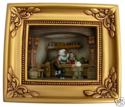 Disney Olszewski Geppetto Painting Pinocchio Gallery of Light Box by Disney