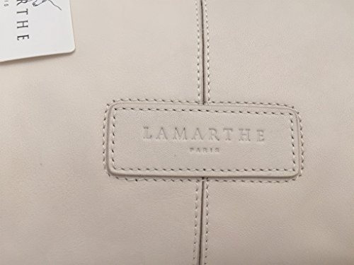 Lamarthe Paris, Borsa A Spalla Da Donna Bianca Bianca