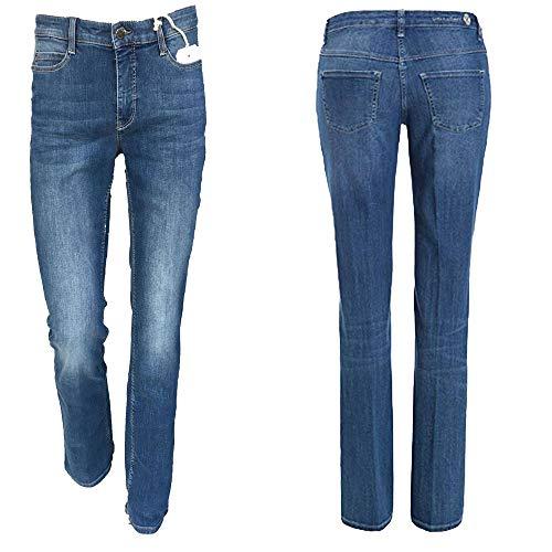 MAC - Jeans - Bootcut - Femme Bleu Bleu