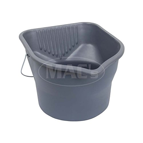 MACs Auto Parts 16-76369 Car Wash Bucket, 3 Gallon