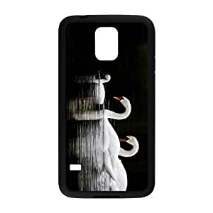 Beatiful Swan Hight Quality Plastic Case for Samsung Galaxy S5