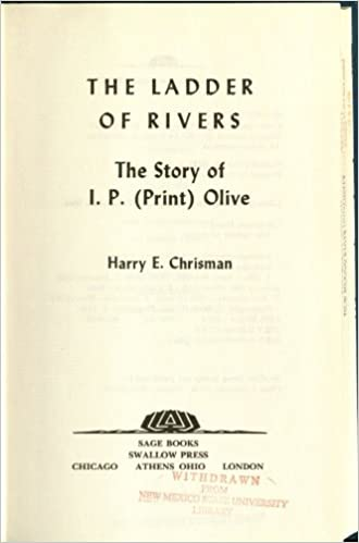The Ladder of Rivers: The Story of I.P. (Print Olive)