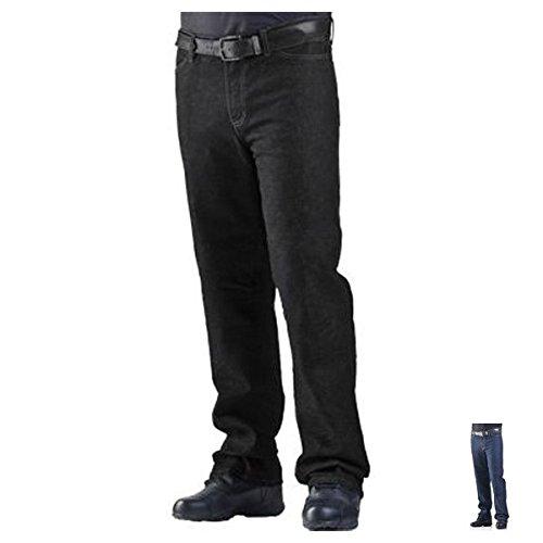 Drayko Renegade Riding Jeans Men's Denim Road Race Motorcycle Pants - Black/Size 40 ()