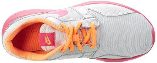 Nike Aishi (Gs) - Zapatillas Unisex Niños Plateado / Rosa