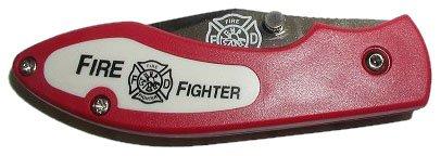 Fire Fighter Pocket Knife (Red), Outdoor Stuffs