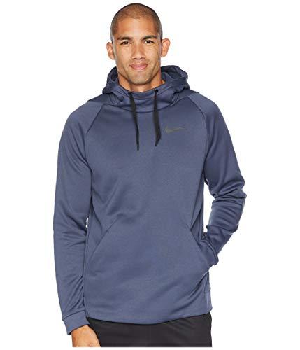 Nike Men's Thermal Training Hoodie, Thunder Blue/Black, ()