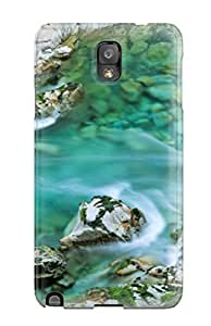 For Galaxy Note 3 Premium Tpu Case Cover Beautiful Nature Protective Case