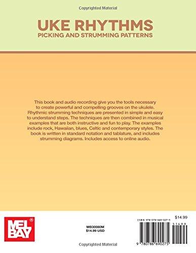 Amazon Uke Rhythms Picking And Strumming Patterns Beauteous Ukulele Picking Patterns