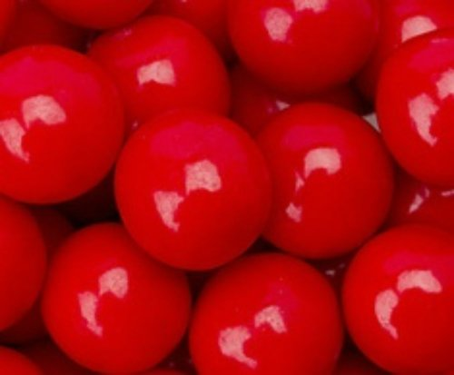 Red Cherry 1 Inch Gumballs 1LB Bag