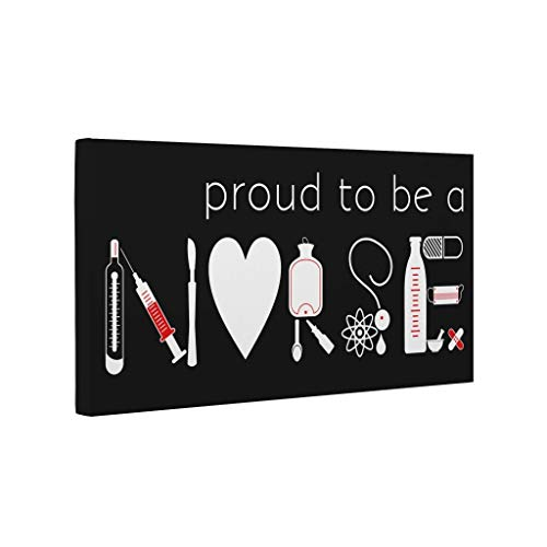 Proud to Be a Nurse CANVAS Wall Art