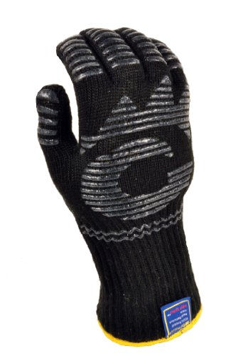 Mitts Stovetop (G & F 1682 Dupont Nomex Heat Resistant gloves for cooking, grilling, fireplace and oven, Barbecue Pit Mitt, BBQ Gloves, Sold by 1 Piece)