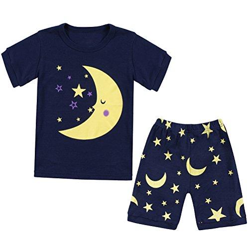 Tkala Fashion Girls Pajamas Children Clothes Set 100% Cotton Little Kids Pjs Sleepwear