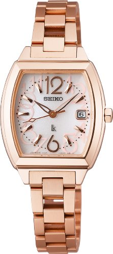 SEIKO LUKIA Reinforced waterproof super clear coating sapphire glass solar Women's Watch SSVN020 [Japan Import]