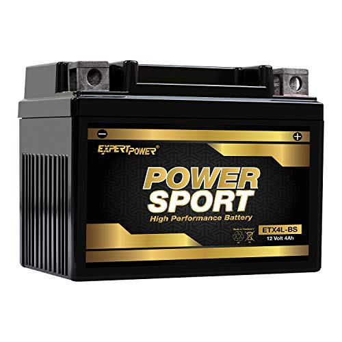 ExpertPower ETX4L-BS Powersport Replacement (YTX4L-BS