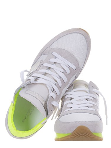 Neon Philippe TRLD Model NS01 Bimat Tropez Sneakers Bianco Suola Ugv7qUwn