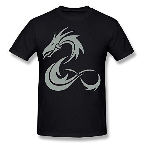 Engtaiquji Dragon 2 T-shirt For Men Size M Color - Corpus Texas Warehouse Men's Christi