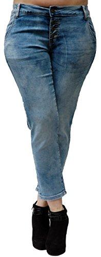 Blue Monkey Jeans - Jeans - Femme Bleu Bleu