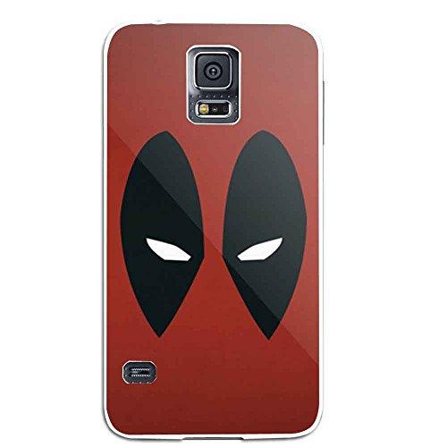 deadpool mask walpaper For Samsung Galaxy S5 White (Deadpool Walpaper)