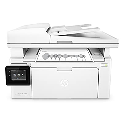 HP Laserjet Pro M130fw All-in-One Monochrome Wireless Laser Printer with Mobile Printing, Amazon Dash Replenishment Ready (G3Q60A)