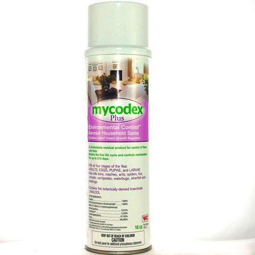 Veterinary Products Labiratories Mycodex Plus Environmental Control Aerosol Household Spray (16 oz)