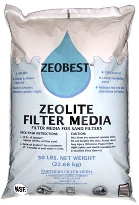 Blue Wave NA510 25 lb. Zeobest Sand Alternative