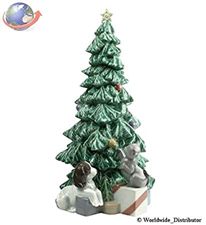 Nao Porcelain by Lladro CHRISTMAS MISCHIEF CHRISTMAS TREE 2001620 - Amazon.com: Nao Porcelain By Lladro CHRISTMAS MISCHIEF CHRISTMAS