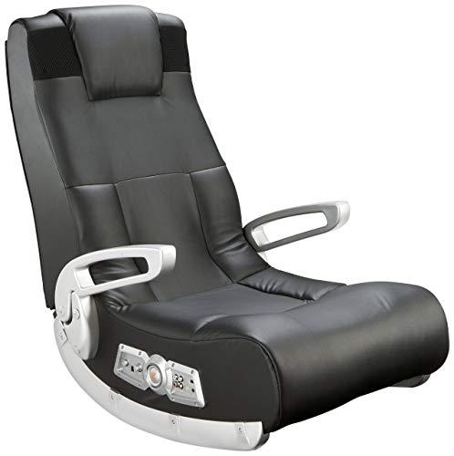 Ace Bayou X Rocker 5143601 II Video Gaming Chair, Wireless, Black (Renewed)