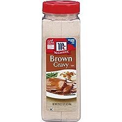McCormick, Brown Gravy Mix, 21oz Contain...
