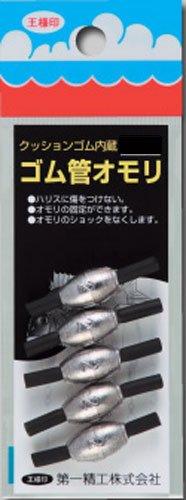 第一精工 ゴム管オモリ長型 3号の商品画像