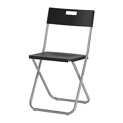 Ikea Folding Chairs 4 Pack (4 Black)  sc 1 st  Amazon.com & Amazon.com: Ikea Folding Chairs 4 Pack (4 Black): Kitchen u0026 Dining