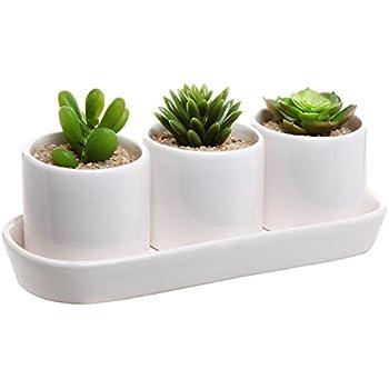 Amazon Com 10 Inch Rectangular Modern Minimalist White