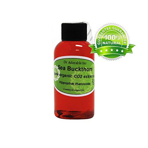 Sea Buckthorn Carrier Oil (Co2 Extracted) 100% Pure 2 Oz