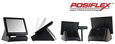 Posiflex PD260AW00FEP Customer Display for All Series Ks Terminals, 2 x 20 VFD, 9mm Characters, Serial, Rear Monitor Mount