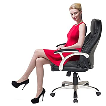 merax ergonomic pu leather executive office mid back chair task computer chair drafting chair queen amazoncom bestoffice ergonomic pu leather high