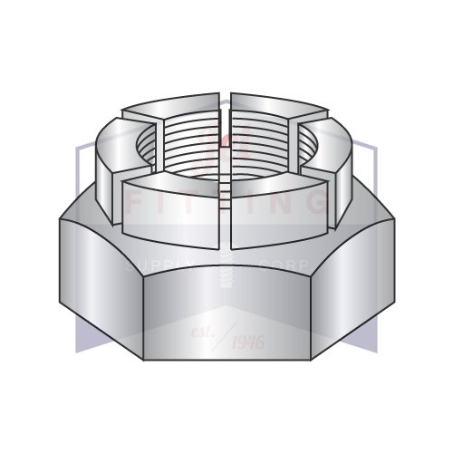 5/16-24 Flex Type Lock Nuts | Light Hex | Full Height | Steel | Cadmium Plated & Waxed (QUANTITY: 500) -