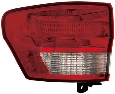 OE Replacement Tail Light Assembly JEEP GRAND CHEROKEE 2011-2013 Partslink CH2804100