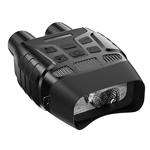JStoon Night Vision Goggles Hunting Night Vision Binoculars - Infrared Binoculars with Night Vision can Take HD Image & 960p Video from 300m/984ft in The Dark with 32 Memory Card, JS-03 Night Goggles