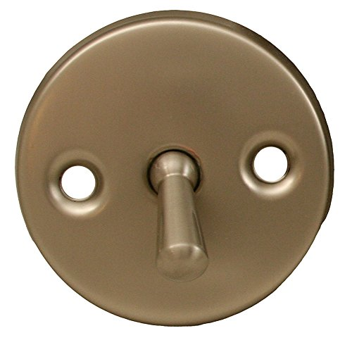 Jones Stephens P3566BN Brushed Nickel Trip Lever Faceplate and Handle