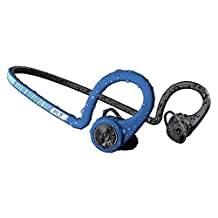 Plantronics BackBeat FIT Wireless Bluetooth Headphones - Waterproof Earbuds with On-Ear Controls for Running and Workout, Power Blue