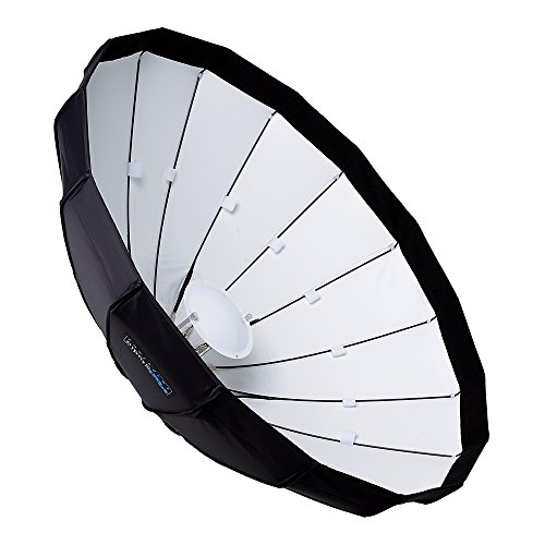 Pro Studio Solutions EZ-Pro 40in (100cm) Beauty Dish and Softbox Combination w/Profoto Speedring - Soft Collapsible Beauty Dish with Speedring for Bayonet Mountable Strobe, Flash and - Profoto Studio Flash