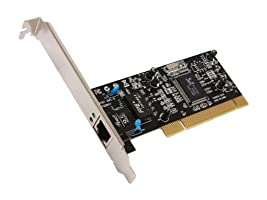 Rosewill 10/100/1000Mbps Gigabit PCI RJ45 Ethernet Network Adapter , Win10 Supported , Low-profile Bracket Included (RC-400-LX)