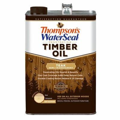 (Thompsons Timber Oil Teak Semi-Transparent Gallon)