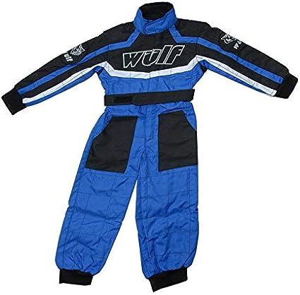 XL Traje de carreras para ni/ños color azul MX Quad para ni/ños Enduro Offroad Bike Wear 11-12 a/ños Wulfsport