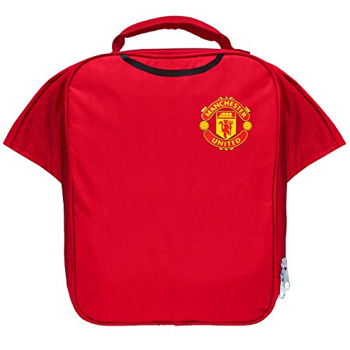 Manchester United FC Official Football Gift Kit Lunch Box Cool Bag Soccer (Lunch United Box Manchester)