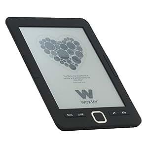 """Woxter E-Book Scriba 195 Black - Lector de Libros electrónicos 6"""" HD (800x600)(E-Ink Pearl Pantalla Más Blanca), Color Negro"""